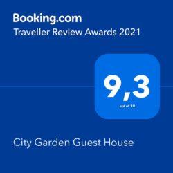 Booking award 2021 City Garden Olbia